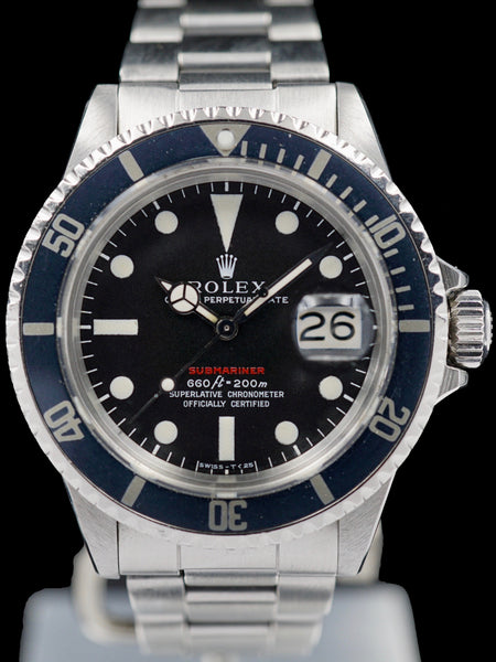 "1971 Rolex Red Submariner (Ref. 1680) ""Mk. IV Dial"""