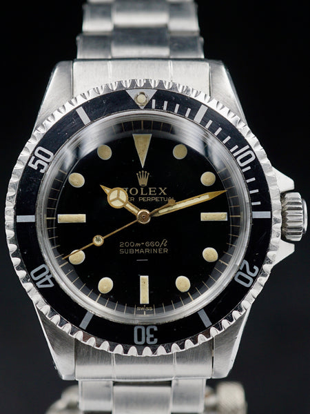 "1964 Rolex Submariner (Ref. 5513) ""GILT Underline Dial w/ PCG"""