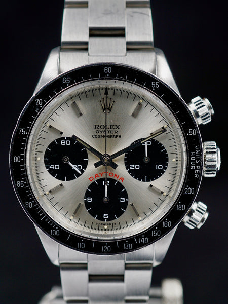 1978 Rolex Daytona 6263 Silver Big Red Daytona Dial