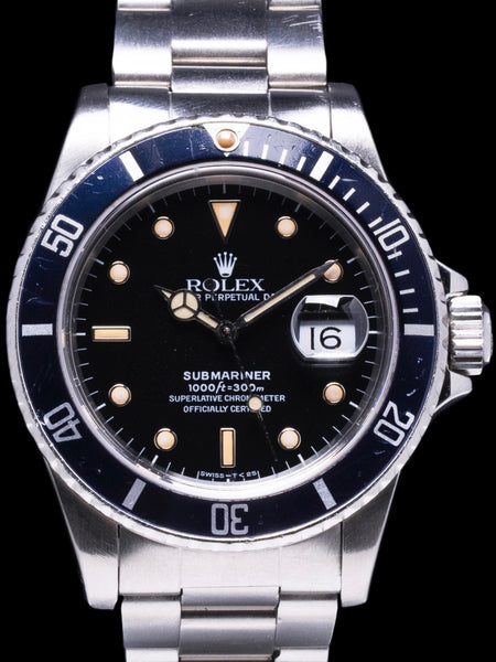 1984 Rolex Submariner (Ref.16800) With Box and Papers