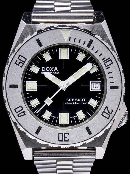 1980s DOXA Sub 600T Sharkhunter Black Dial (Aubry Era)
