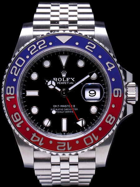 "2018 Rolex GMT-Master II (Ref. 126710 BLRO) ""Pepsi"" with Box and Card"