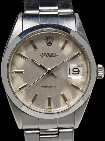 1969 Rolex Oysterdate Precision (Ref. 6694) With Box and Military Provenance