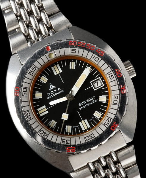 1975 DOXA Sub 300T Sharkhunter (Synchron Era) With Box and Papers