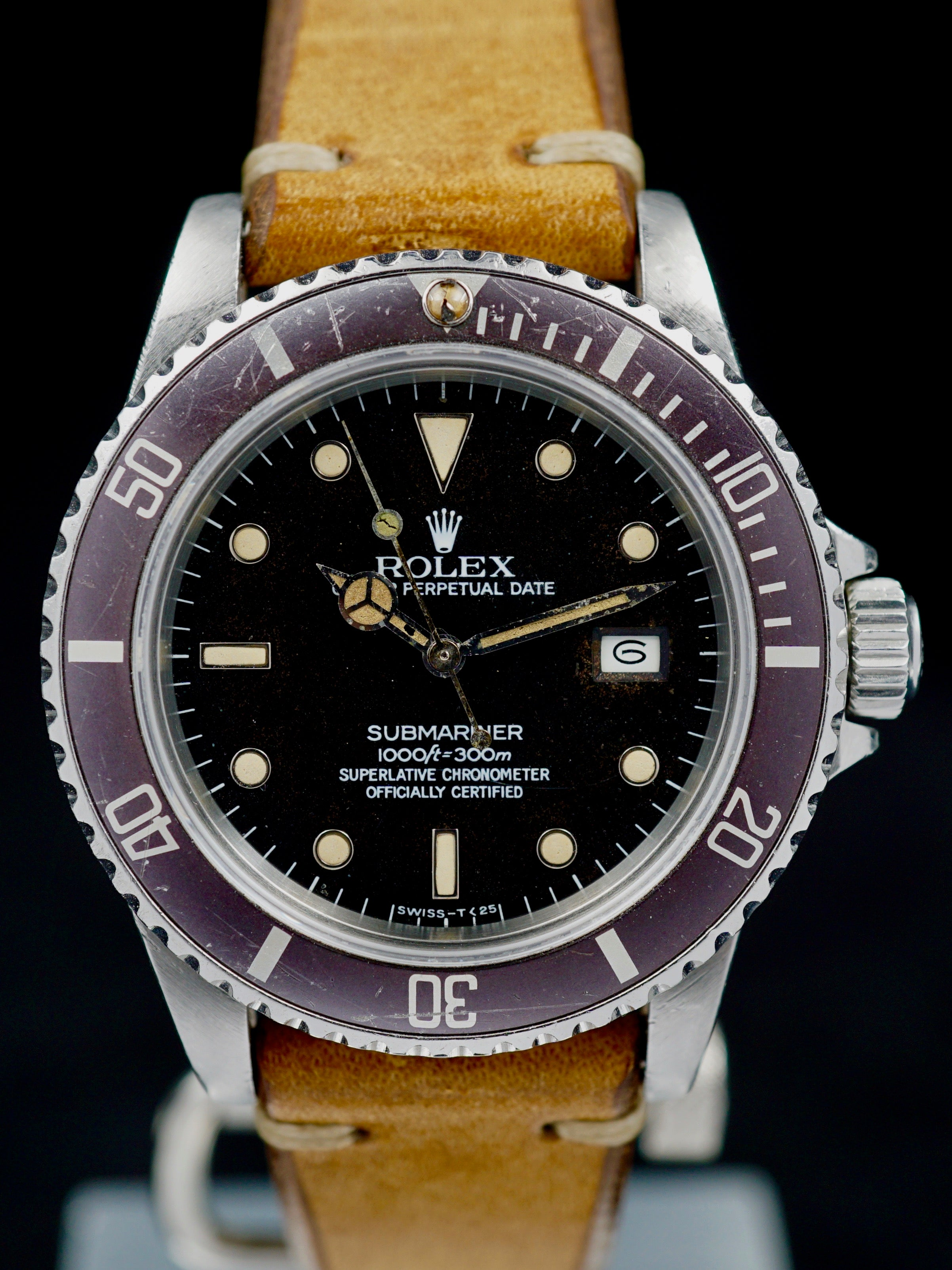 "1983 Rolex Submariner (Ref.16800) Matte Dial ""Tropical"""