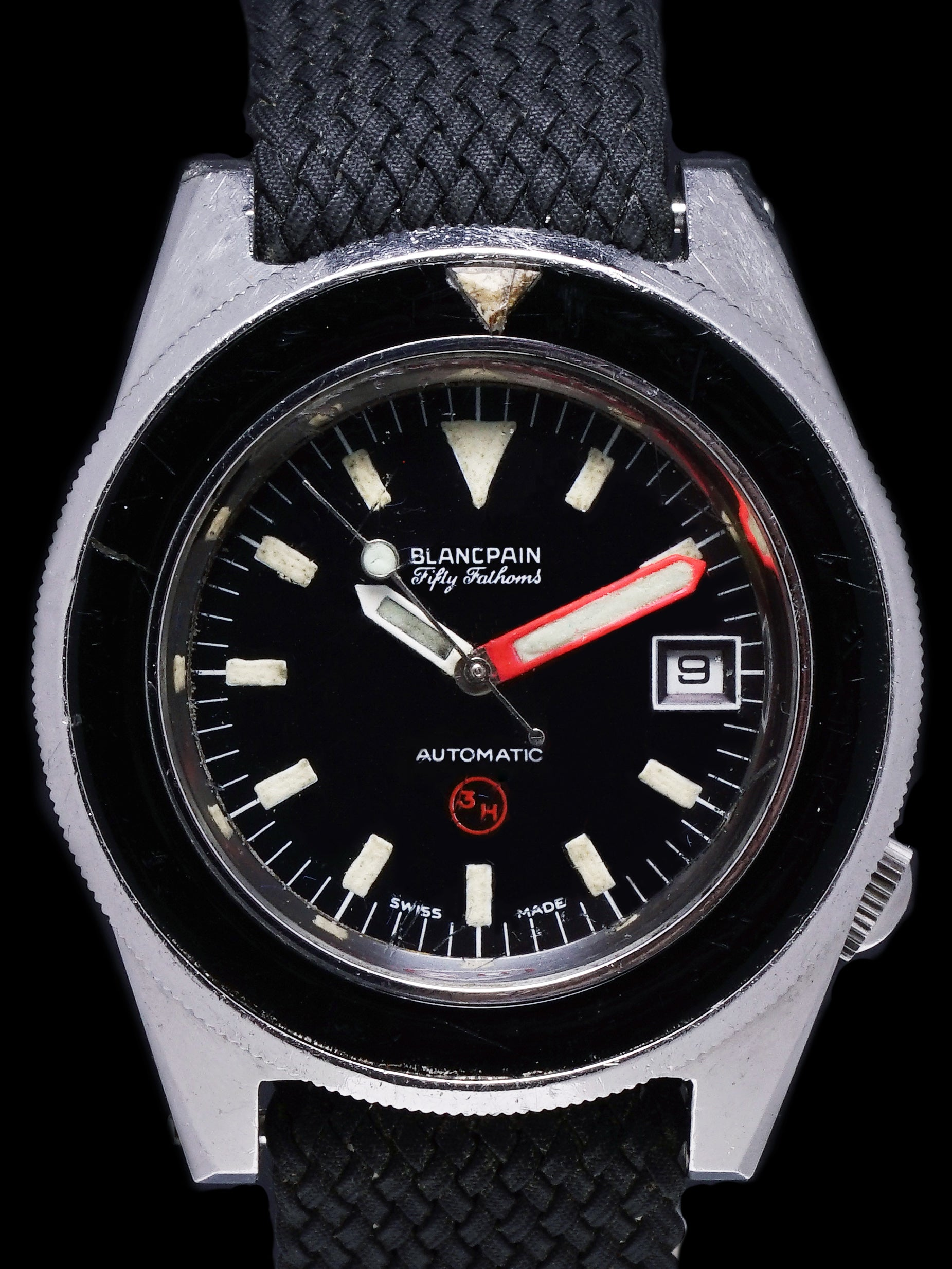 "Blancpain Fifty Fathoms Military ""3H Bund"""