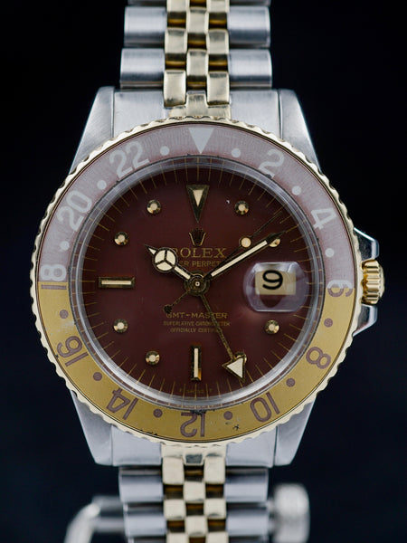 "1971 Rolex Two Tone GMT Ref. 1675 ""Rootbeer"""