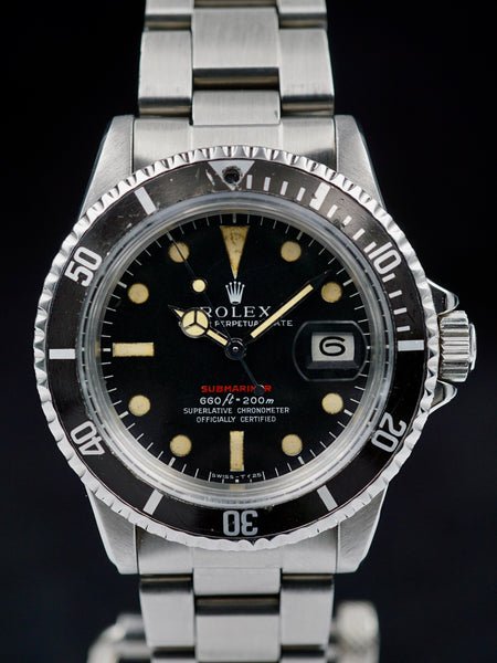 1973 Rolex Red Submariner Ref. 1680. IV Dial