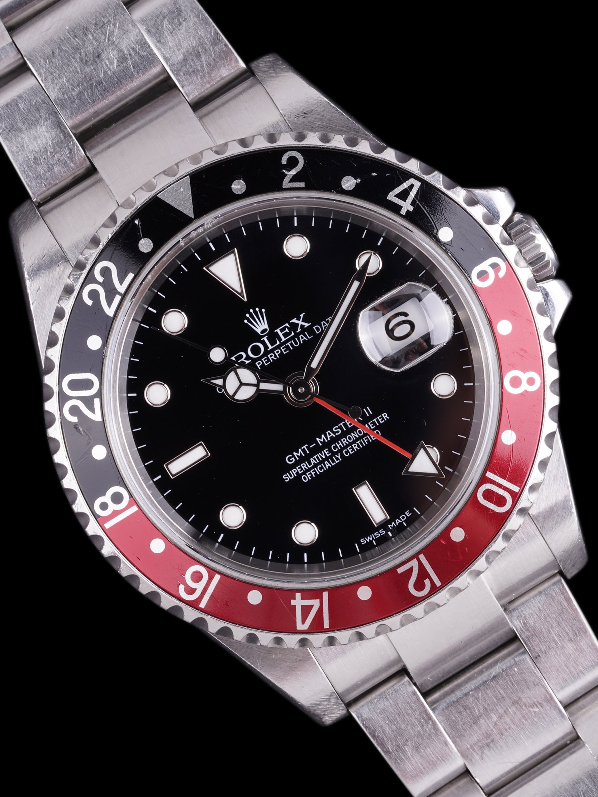 "***Delta Force*** 2007 Rolex GMT-Master II (Ref. 16710) ""Error Dial"" W/ Box, Papers + Full Military Provenance"