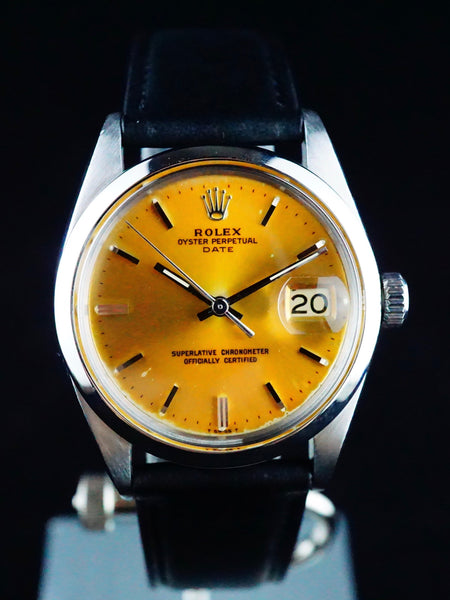 1966 Rolex Oyster Perpetual Date (Ref. 1500) Tropical Dial