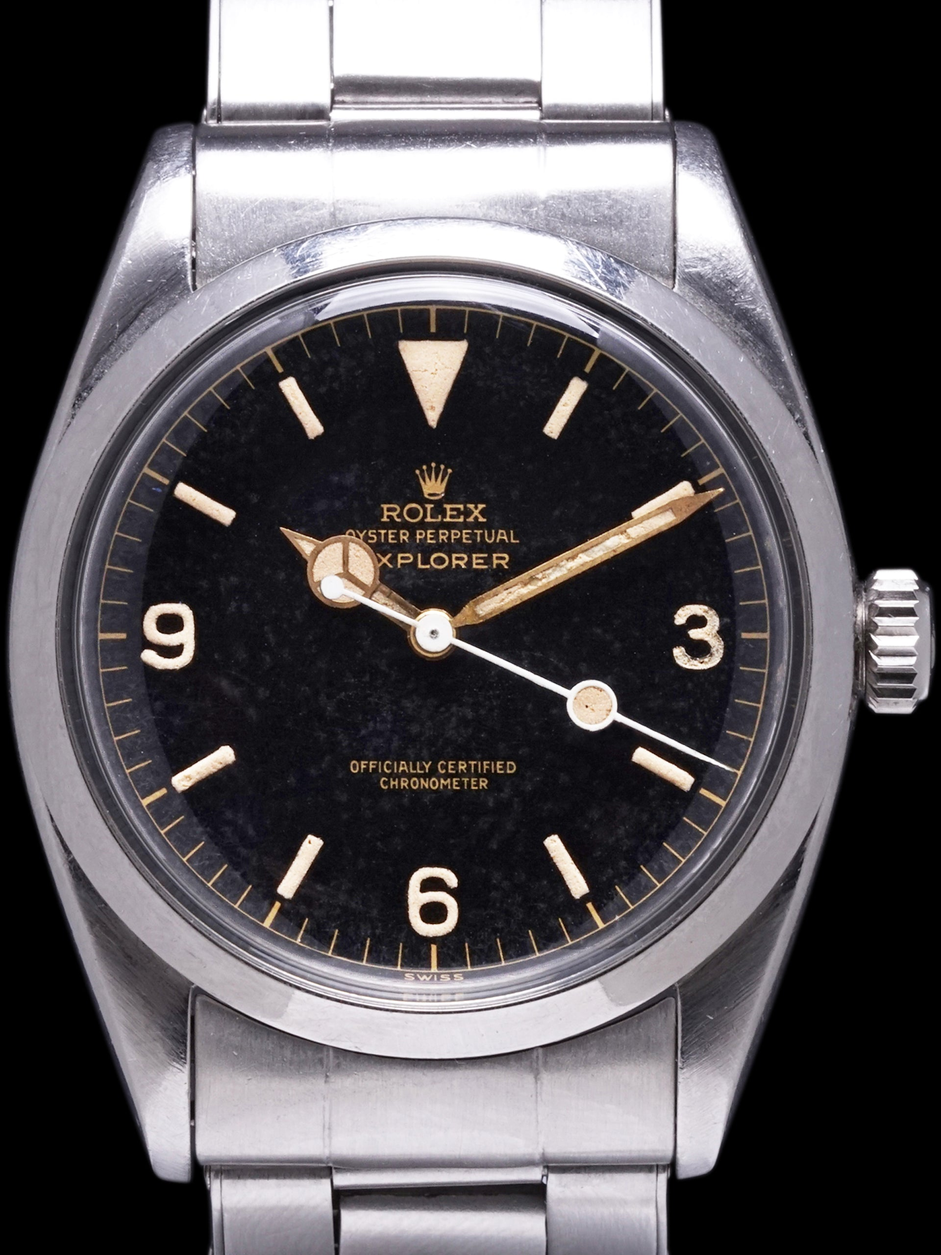 1957 Rolex Explorer I (Ref. 6610) GILT Chapter Ring