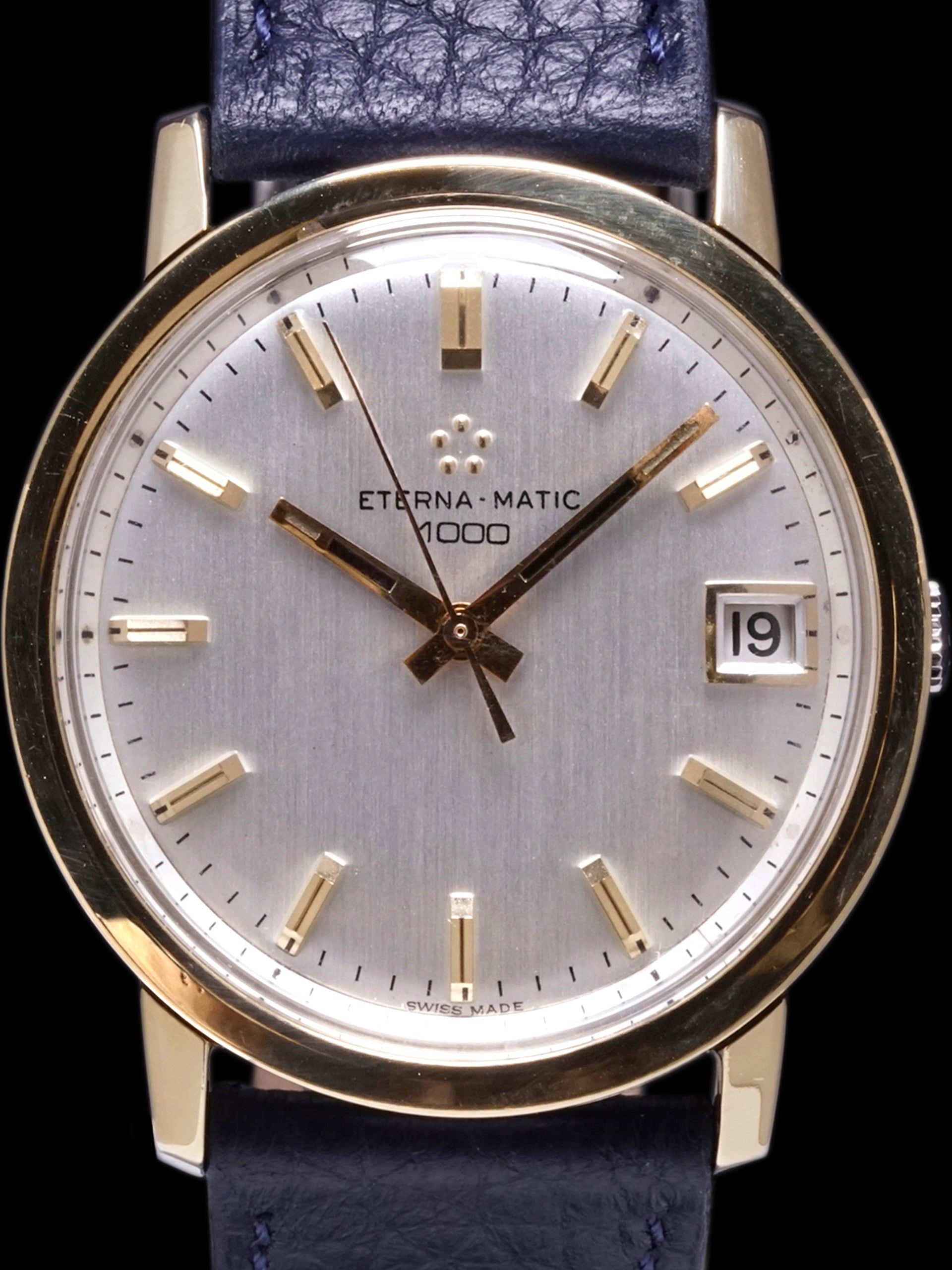 "1970s Eterna-Matic 1000 (Ref. 333 IT) ""Gold Cap"""