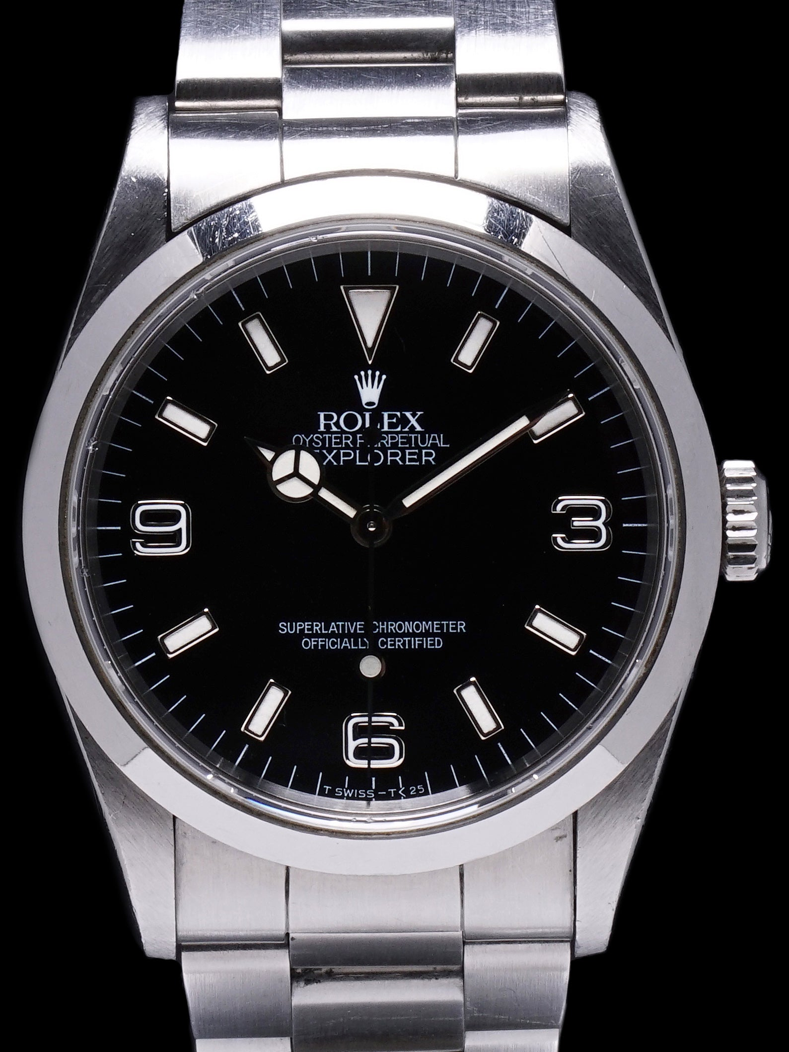 Unpolished 1996 Rolex Explorer I (Ref. 14270)