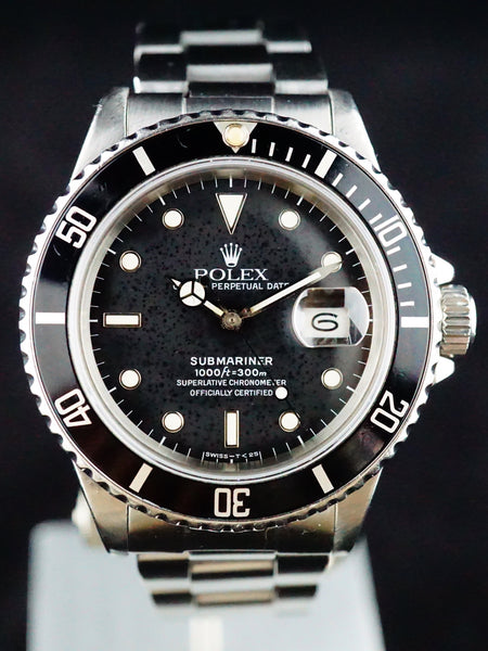1988 Rolex Submariner (Ref.168000) Rare Transitional Model