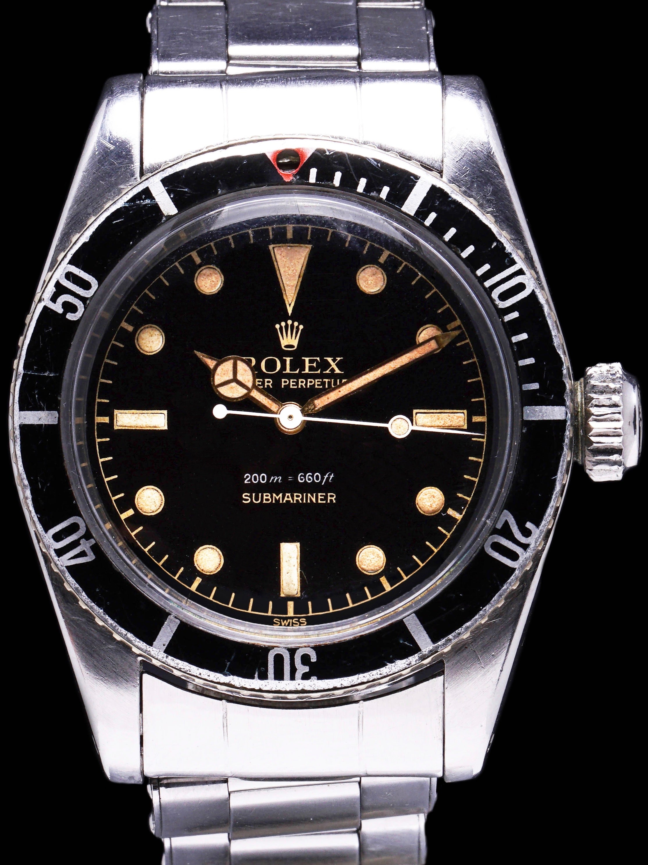 "1958 Rolex Submariner (Ref. 6538) ""Big Crown"" James Bond"