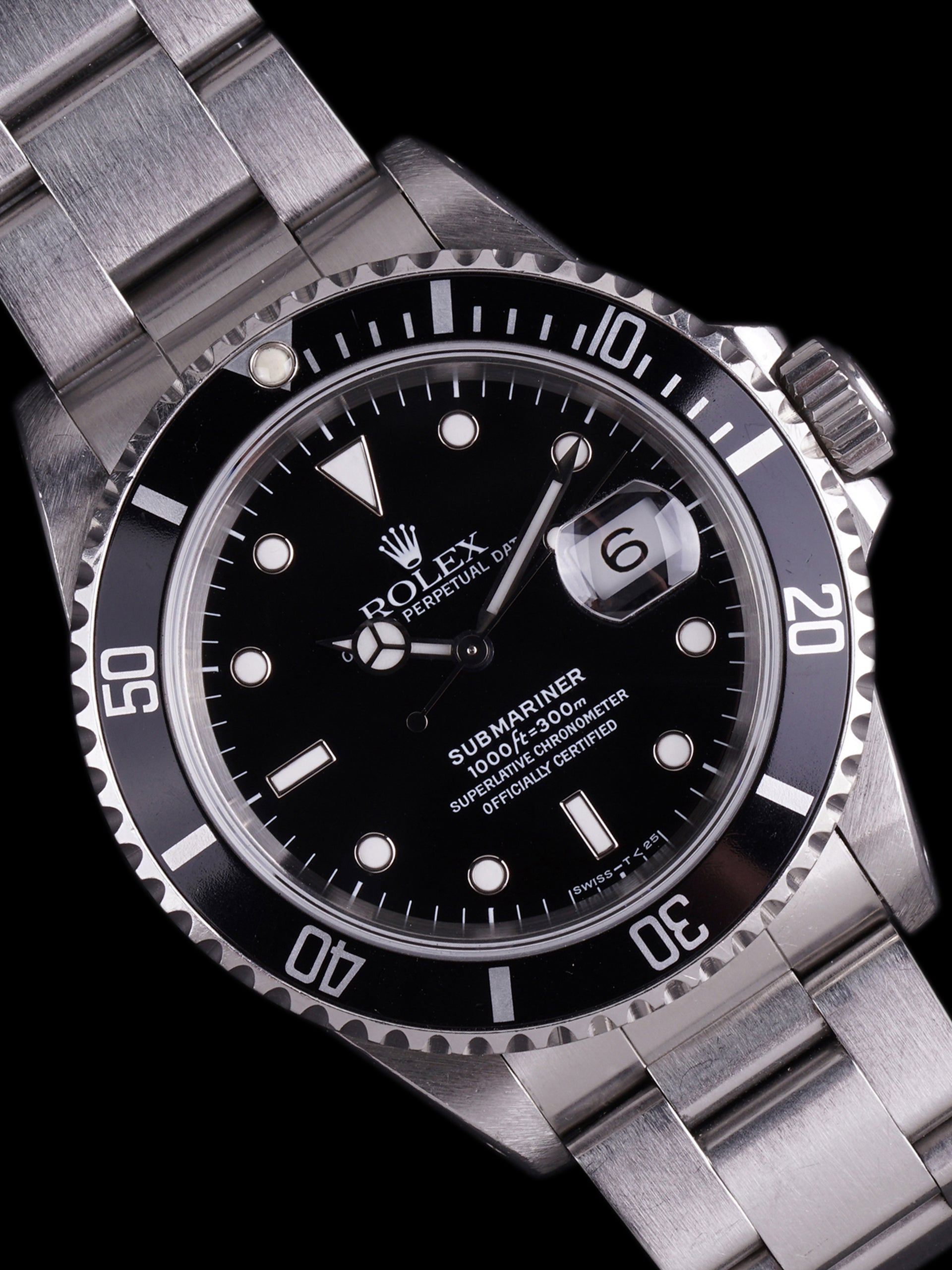 *Unpolished* 1994 Rolex Submariner (Ref. 16610)
