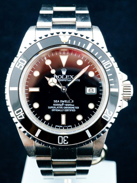 1984 Rolex Sea Dweller Ref. 16660 Spider Dial
