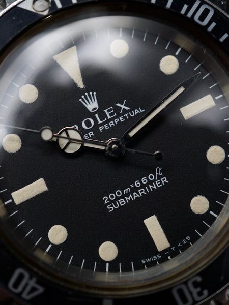 1968 Rolex Submariner (Ref. 5513) Meters First