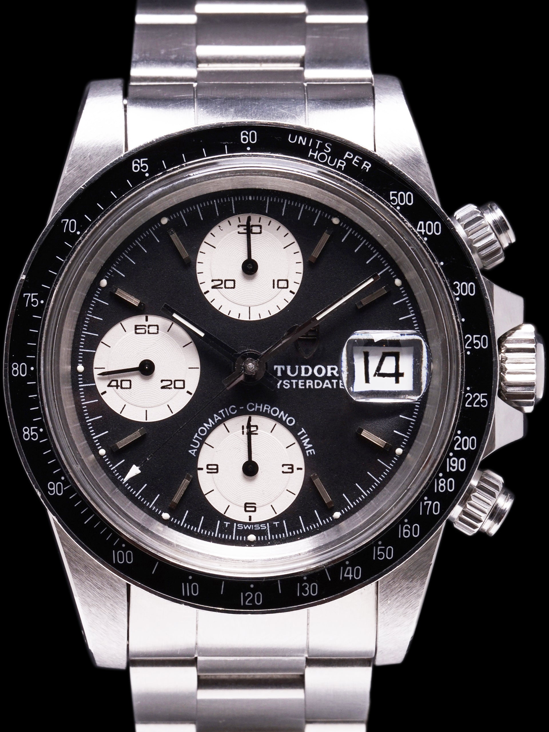 *Unpolished* 1989 Tudor Chronograph Big Block (Ref. 79160)