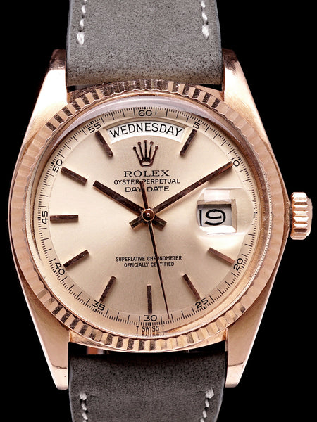 1978 Rolex Day-Date (Ref. 1803) 18K Rose Gold