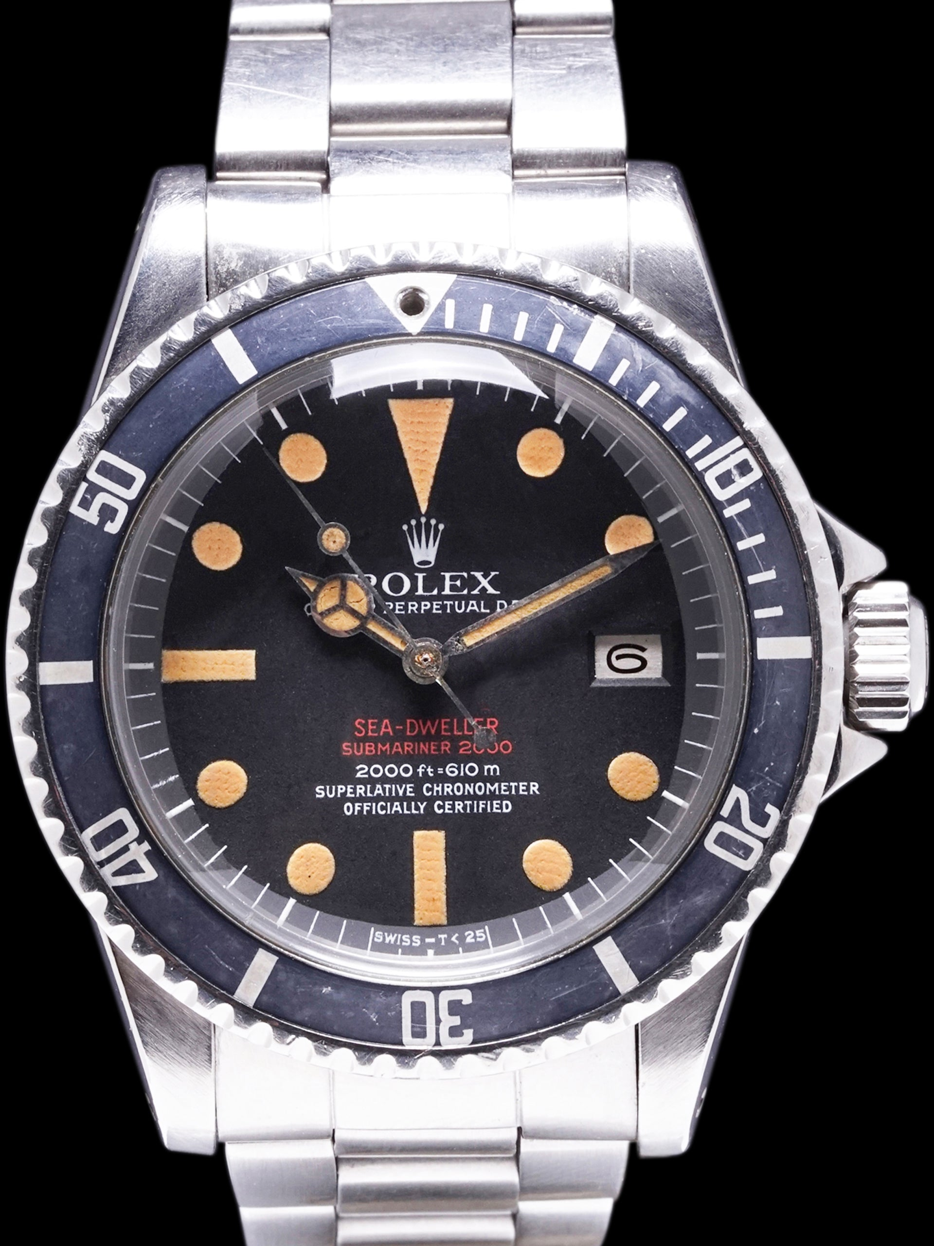 "1975 Rolex Double Red Sea-Dweller (Ref. 1665) Mk. III ""Pumpkin"""