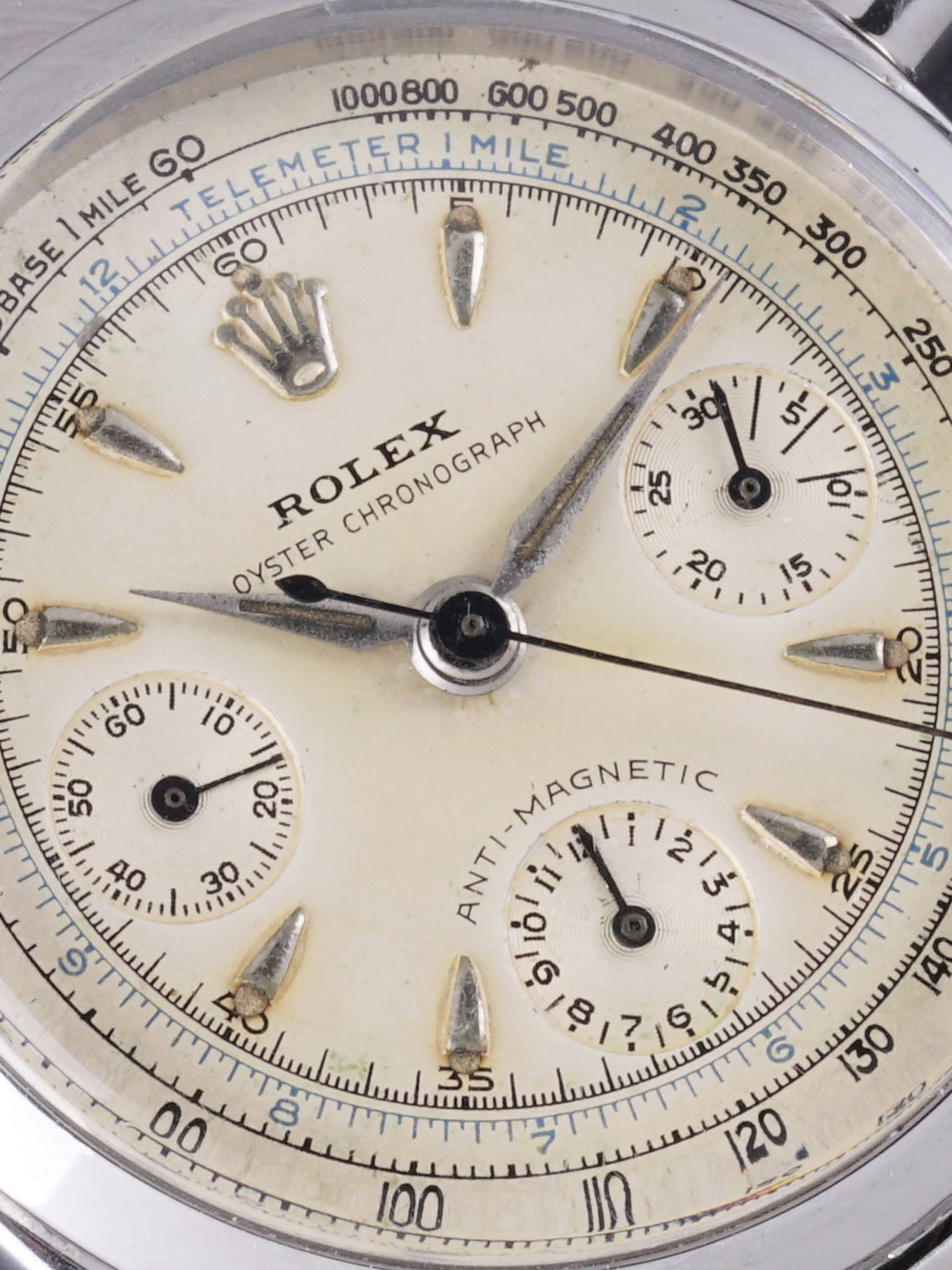1959 Rolex Chronograph Pre-Daytona (Ref.6234) Box, Papers, Letters From Original Owner