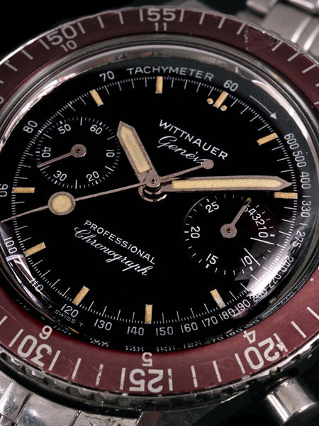 1960s Wittnauer Genève Professional Chronograph Reference 7004A