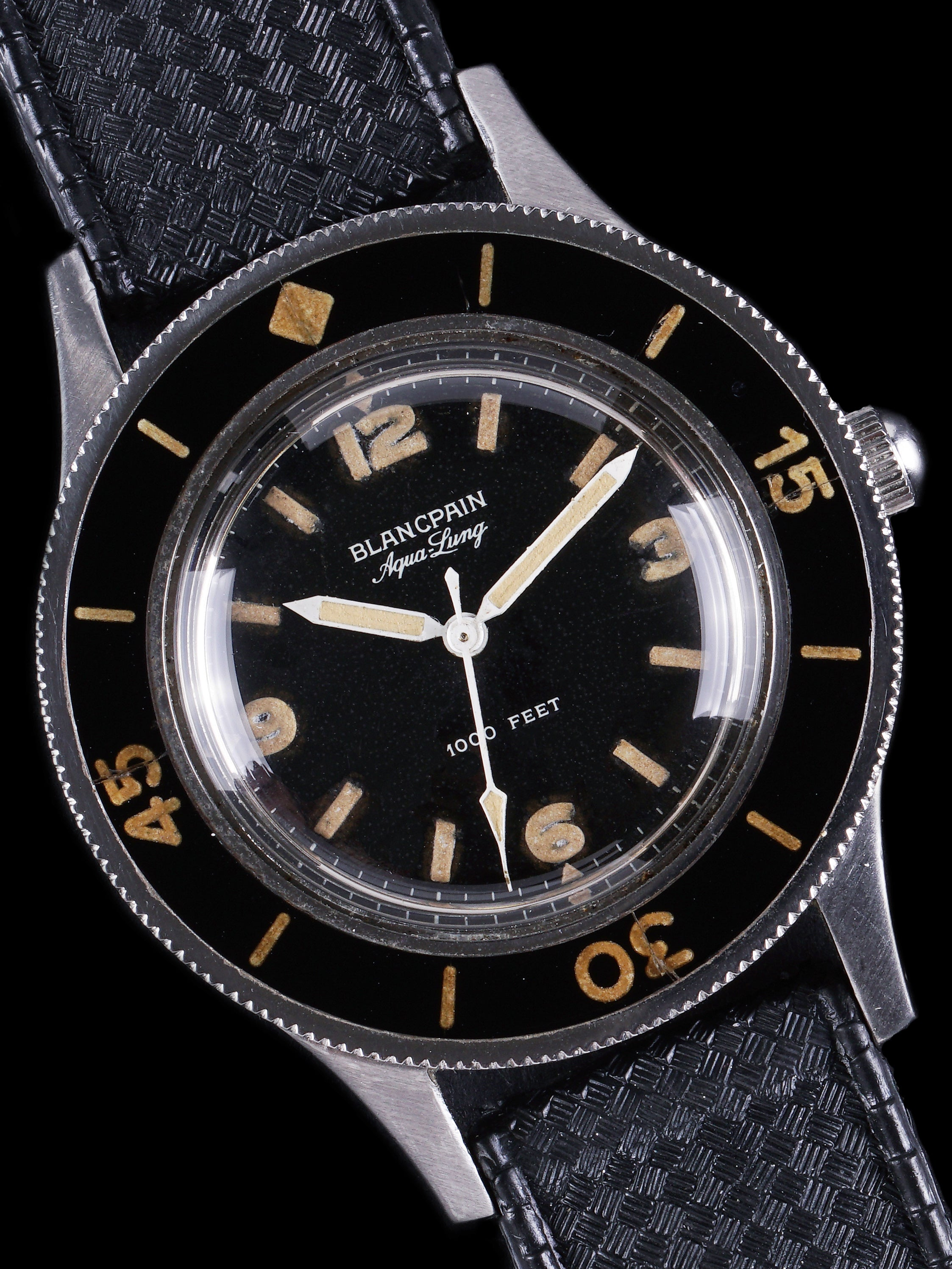 1953 Blancpain Fifty Fathoms (Ref. 2462) Aqualung 1000FT