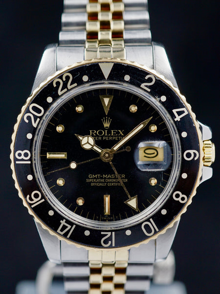 1980 Rolex Two Tone GMT Ref. 16753