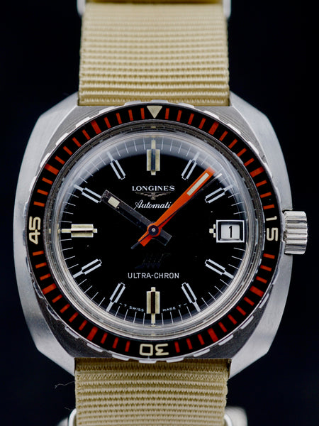 1970 Longines Ultrachron Ref. 7970-4 Diver