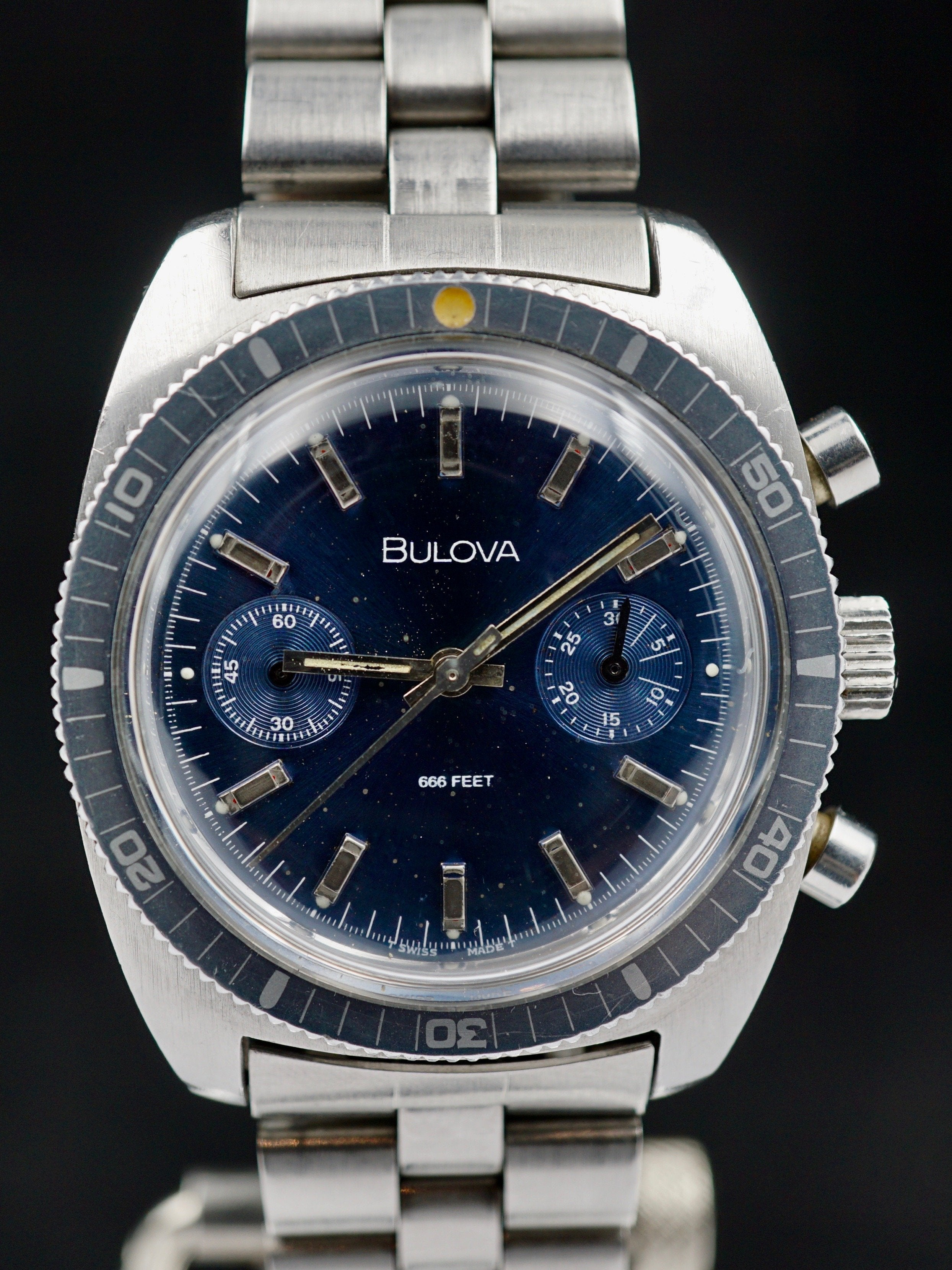 1971 Bulova Deep Sea Divers Chronograph