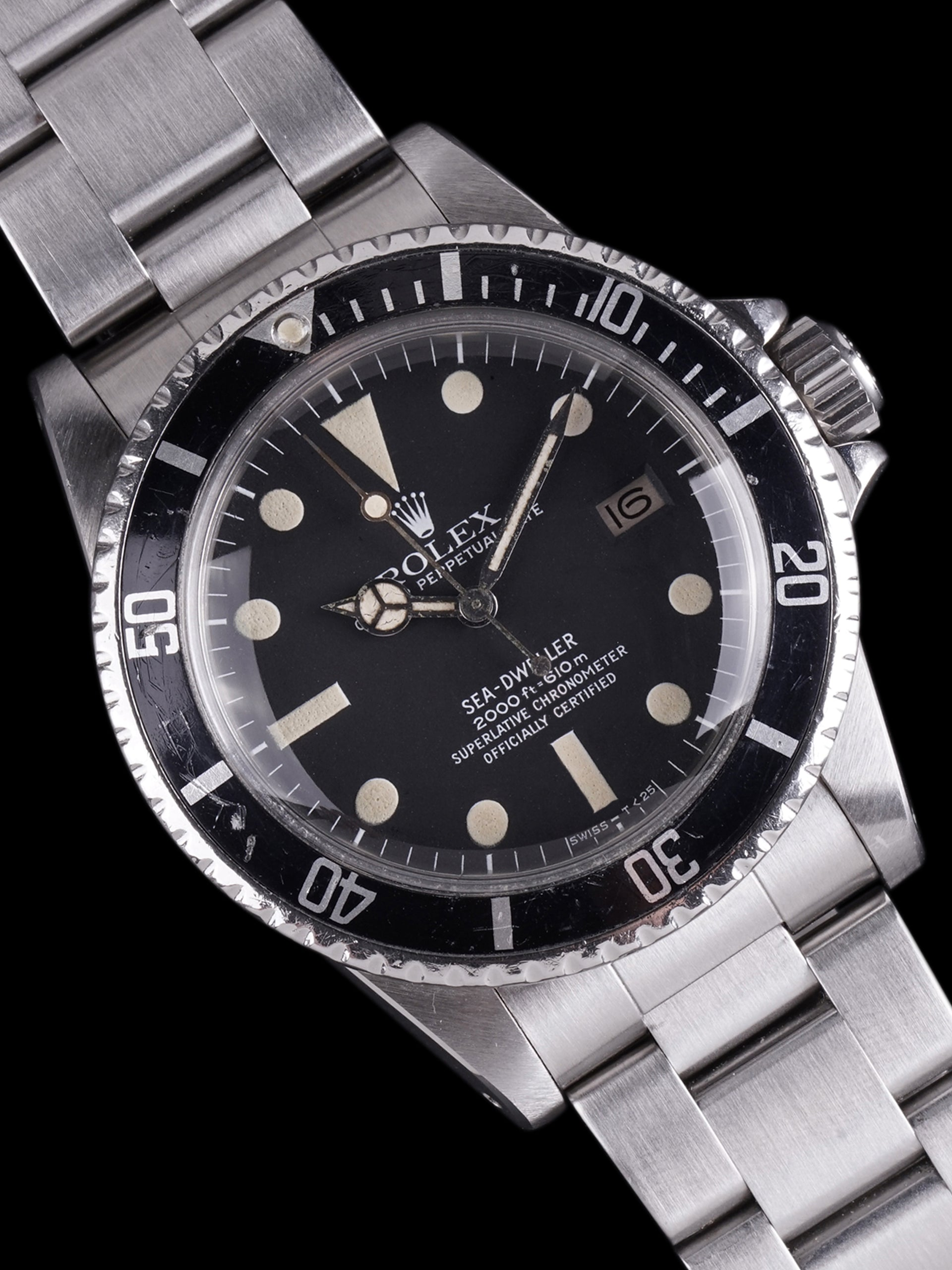 "1979 Rolex Sea-Dweller (Ref. 1665) Mk. I ""Great White"""