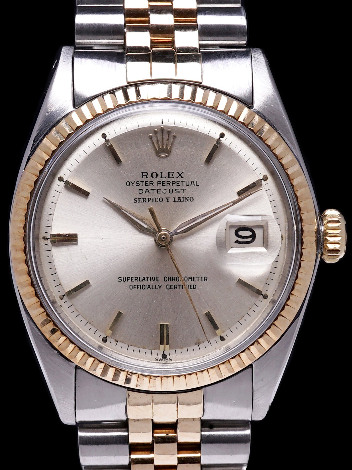 "1964 Rolex Two-Tone Datejust (Ref. 1601) ""Serpico Y Laino"""