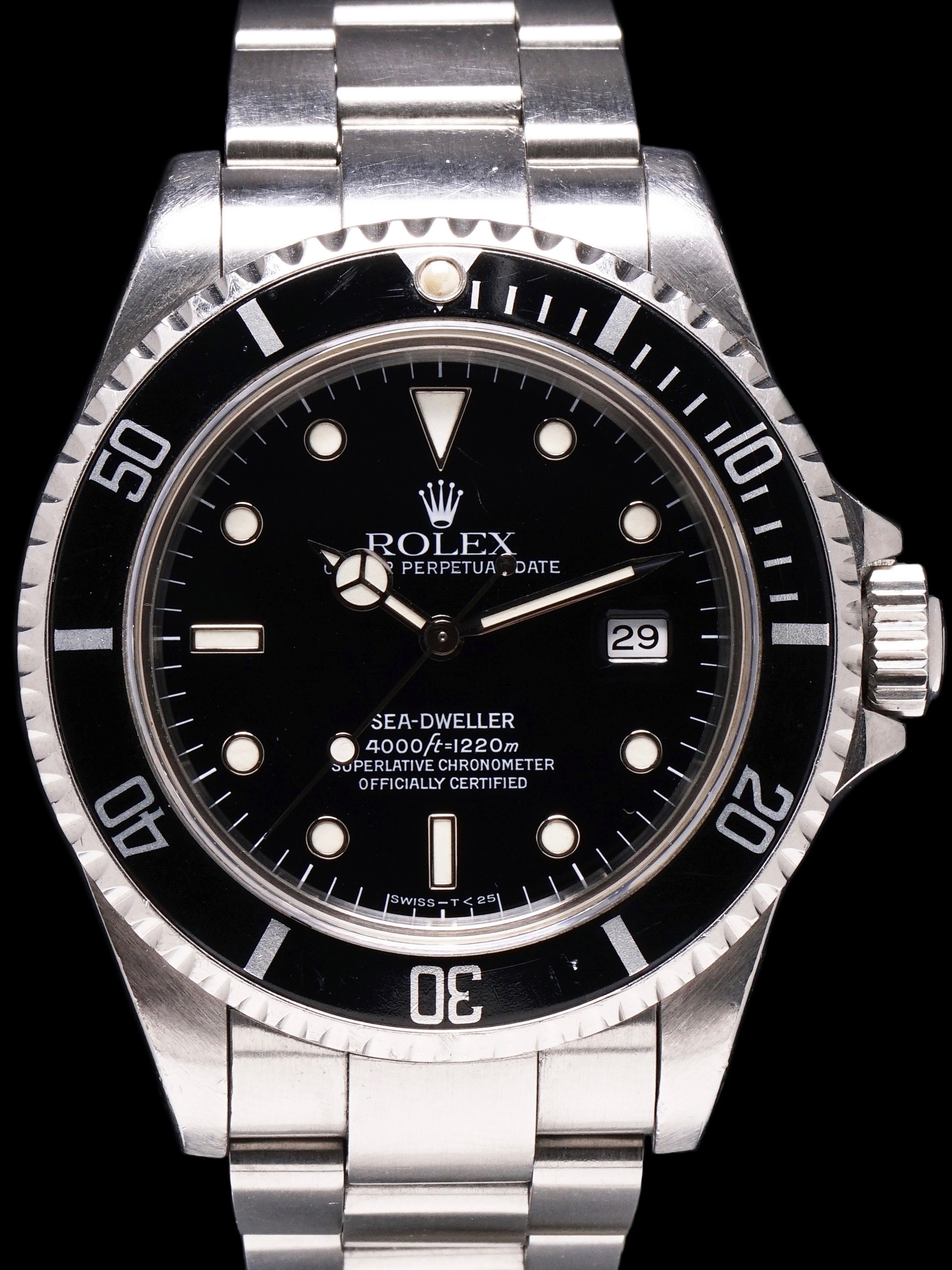 *Unpolished* 1991 Rolex Sea-Dweller (Ref. 16600)