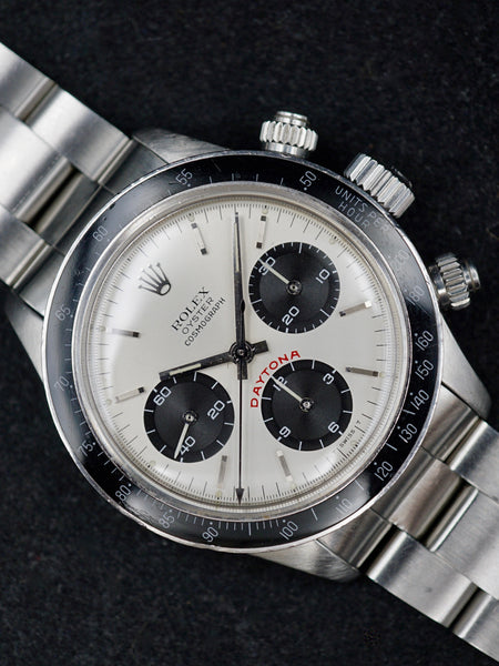 1982 Rolex Daytona 6263 Silver Big Red Daytona Dial