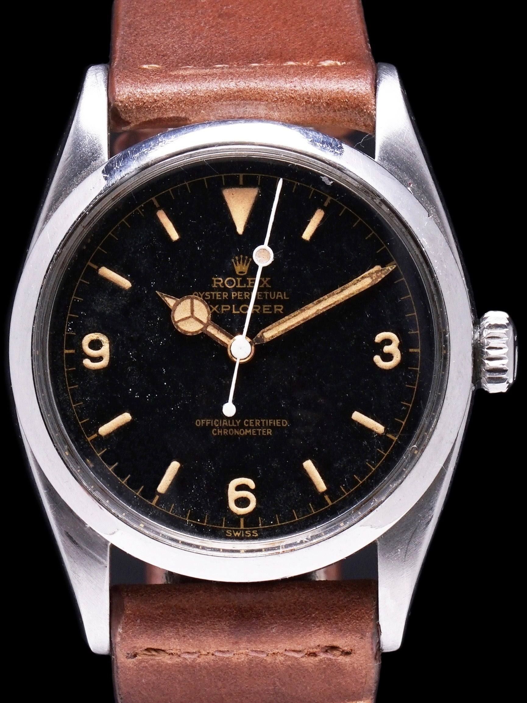 1958 Rolex Explorer I (Ref. 6610) GILT Chapter Ring