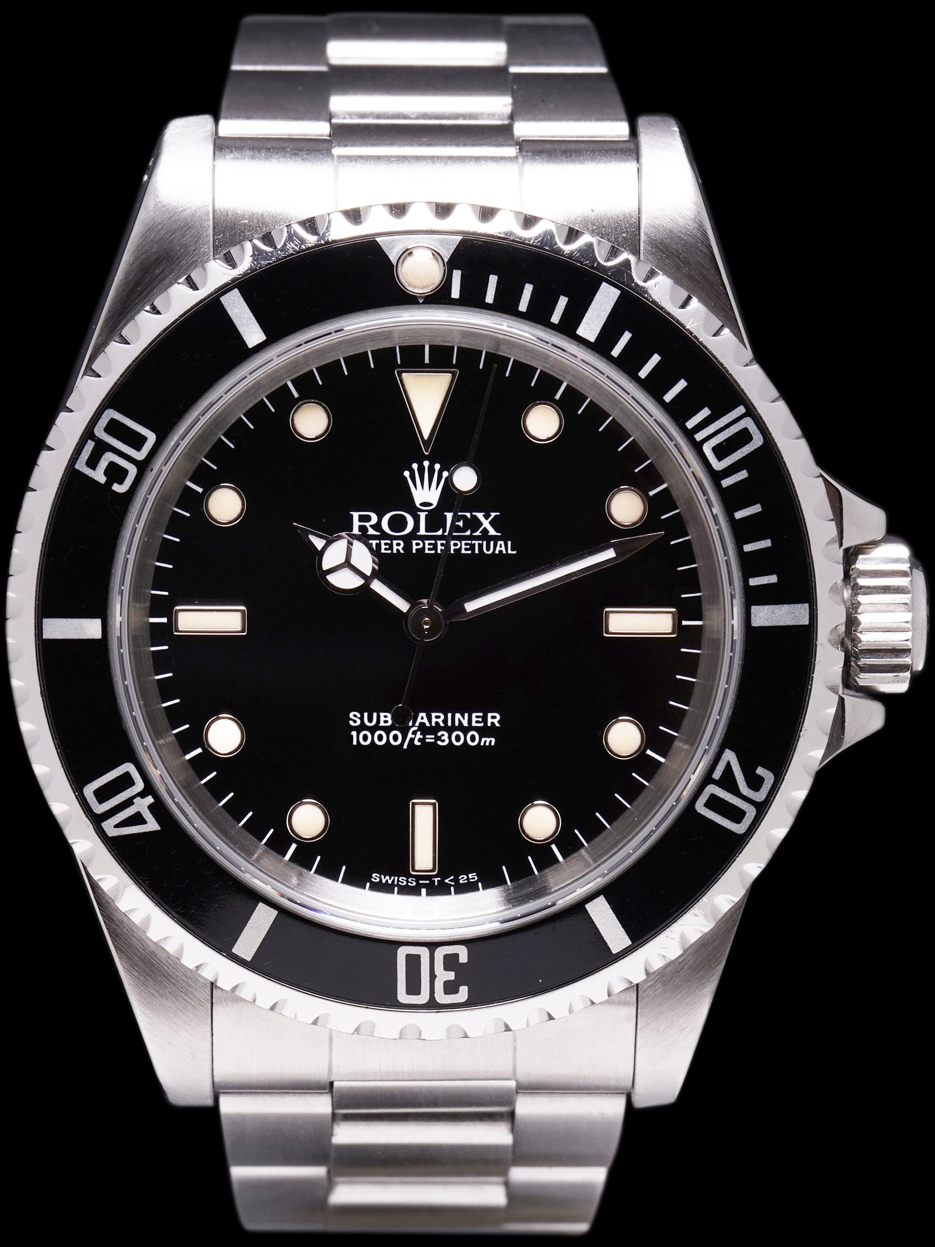 "1990 Rolex Submariner (Ref. 14060) ""Creamy Patina"""