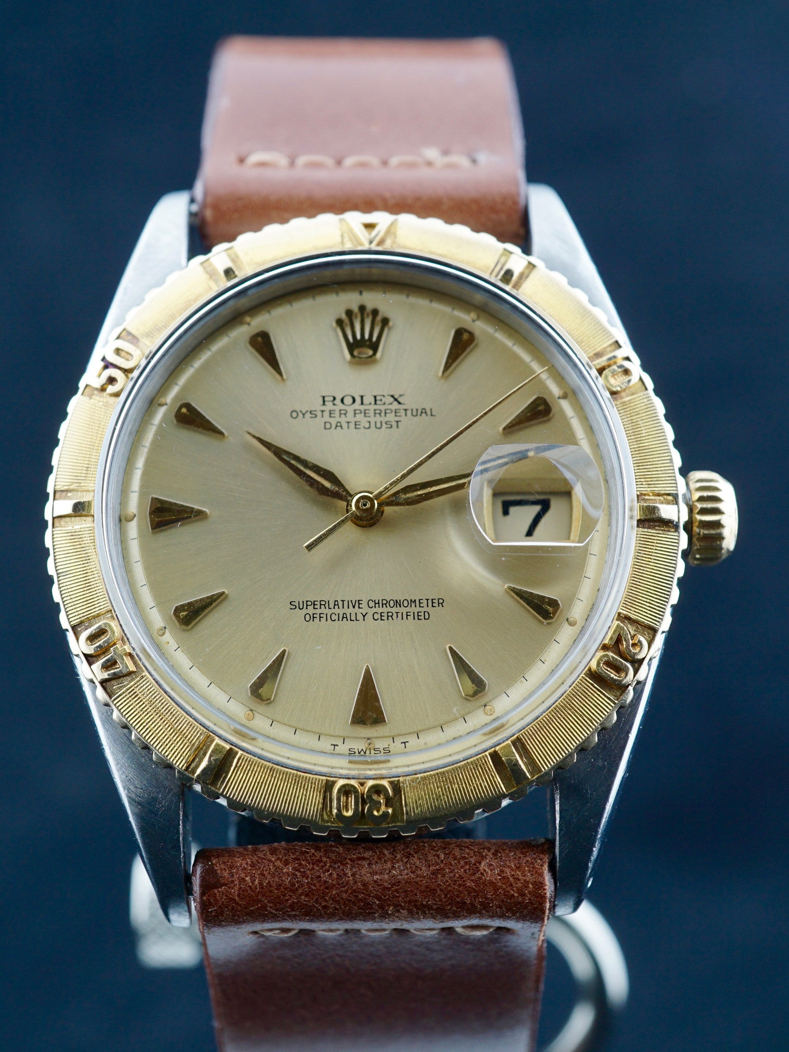 1963 Rolex Two Tone DateJust Turn-O-Graph (Ref.1625)