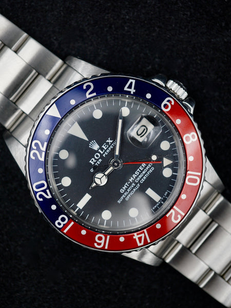"1972 Rolex GMT Master (Ref. 1675) ""Mk. 2"" w/ Box and Papers"