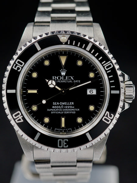 US Navy Seal 1990 Rolex Sea Dweller Ref. 16600