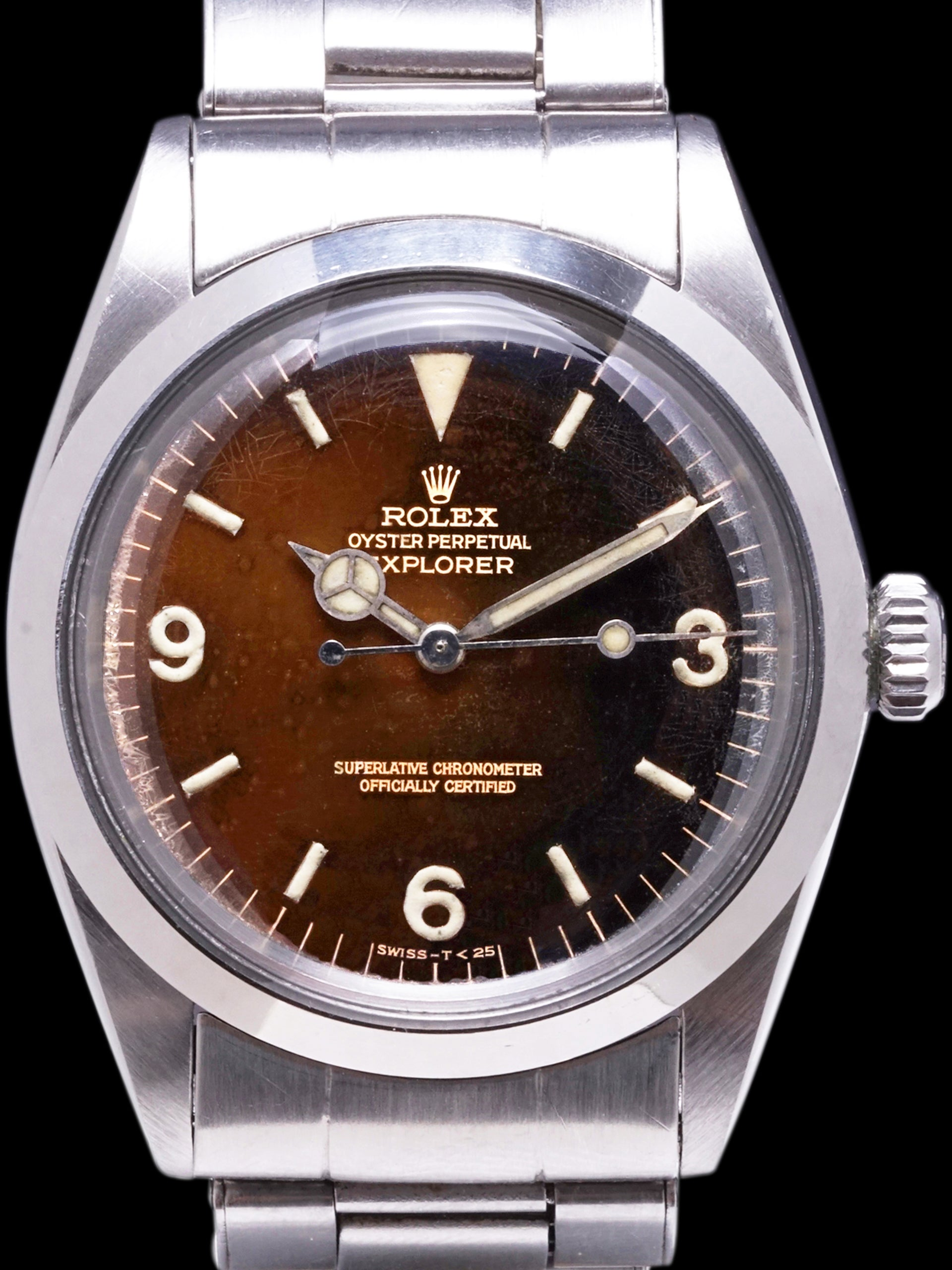 Tropical 1966 Rolex Explorer I (Ref. 1016) Gilt