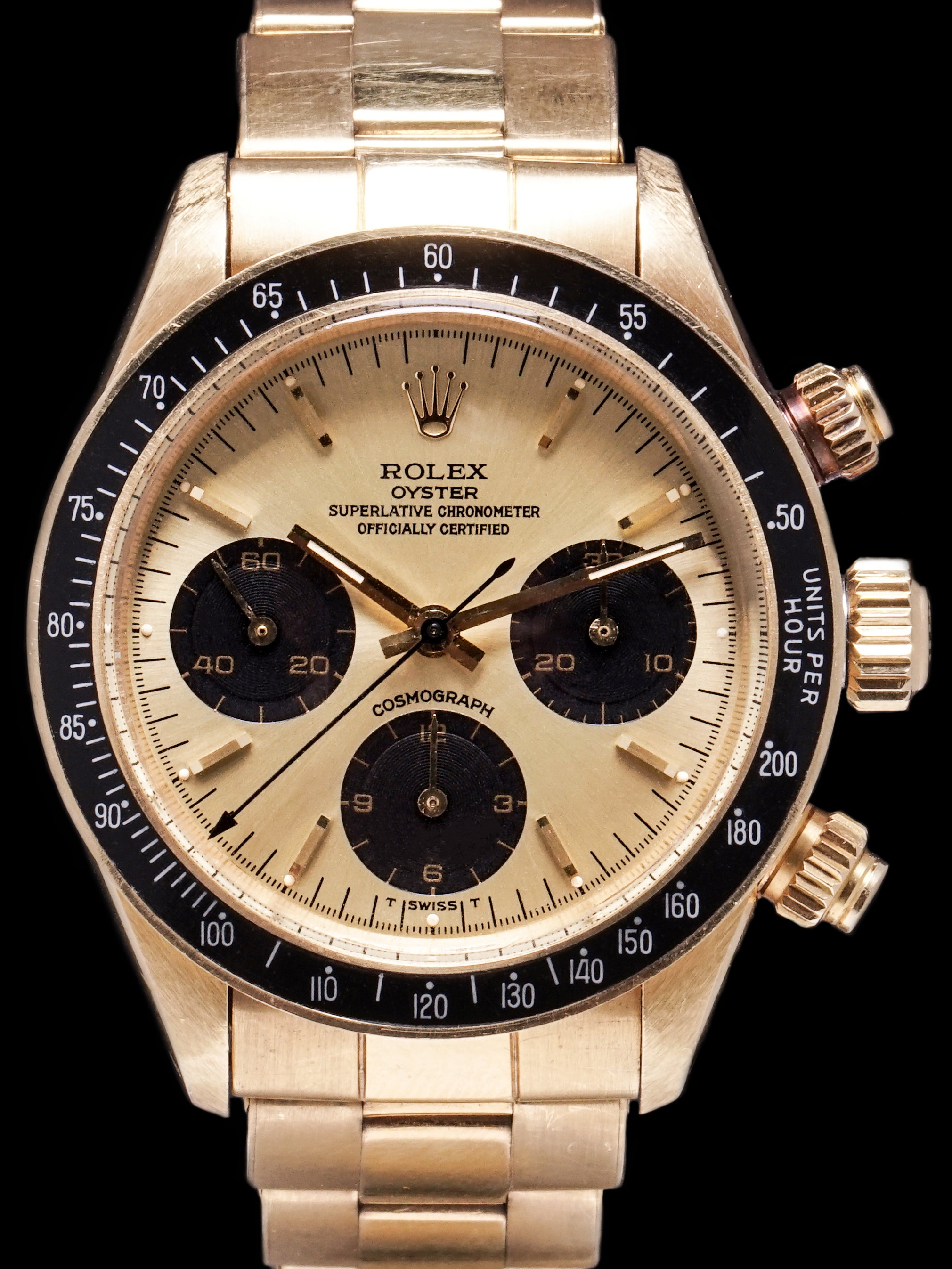 *Unpolished* 1985 Rolex Daytona (Ref. 6263) 18K YG
