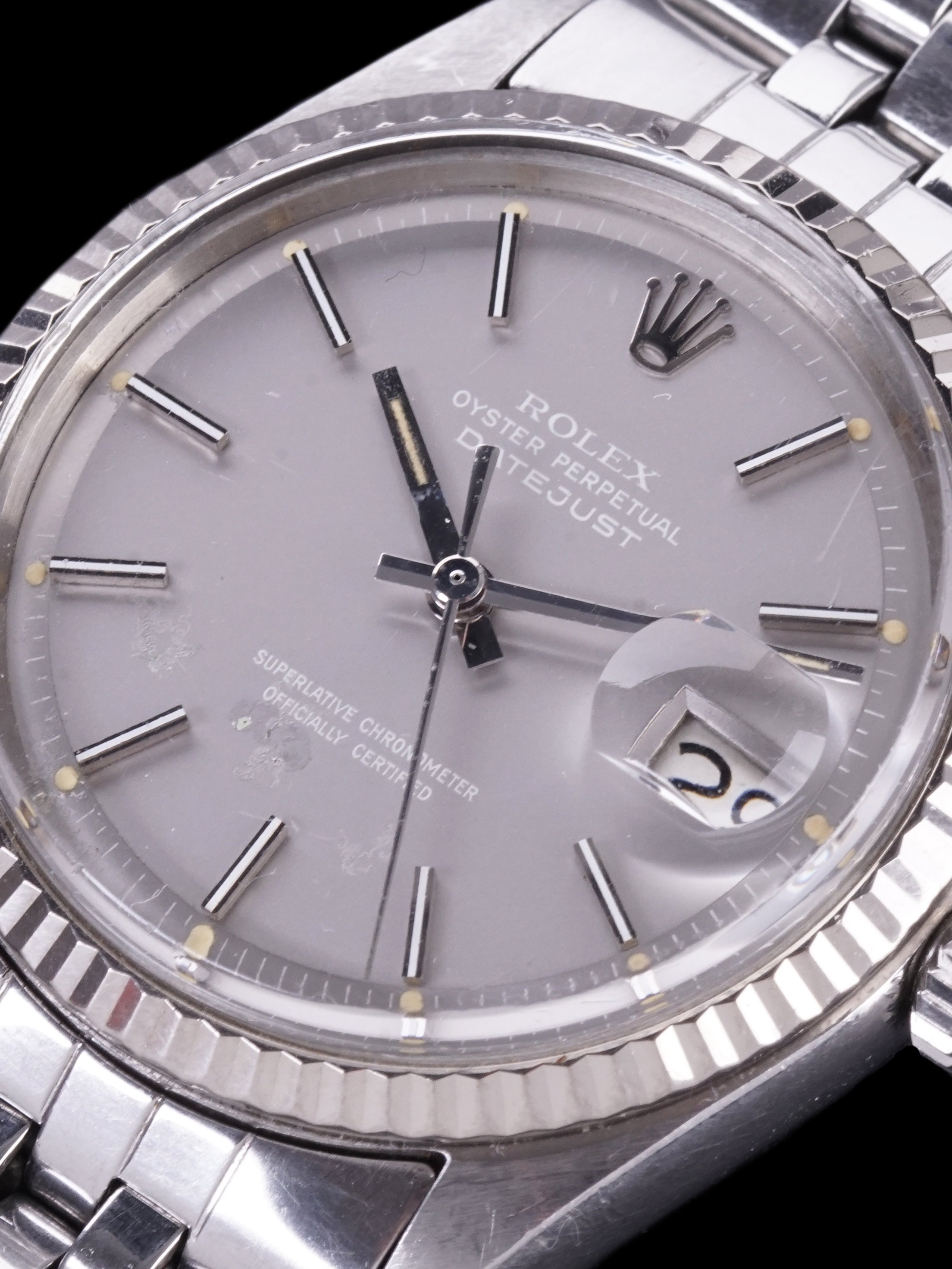 "1970 Rolex Datejust (Ref. 1601) Grey ""Ghost"" Dial"