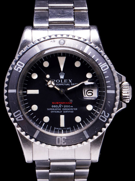 "1972 Rolex Red Submariner (Ref. 1680) ""Mk. IV Dial"""