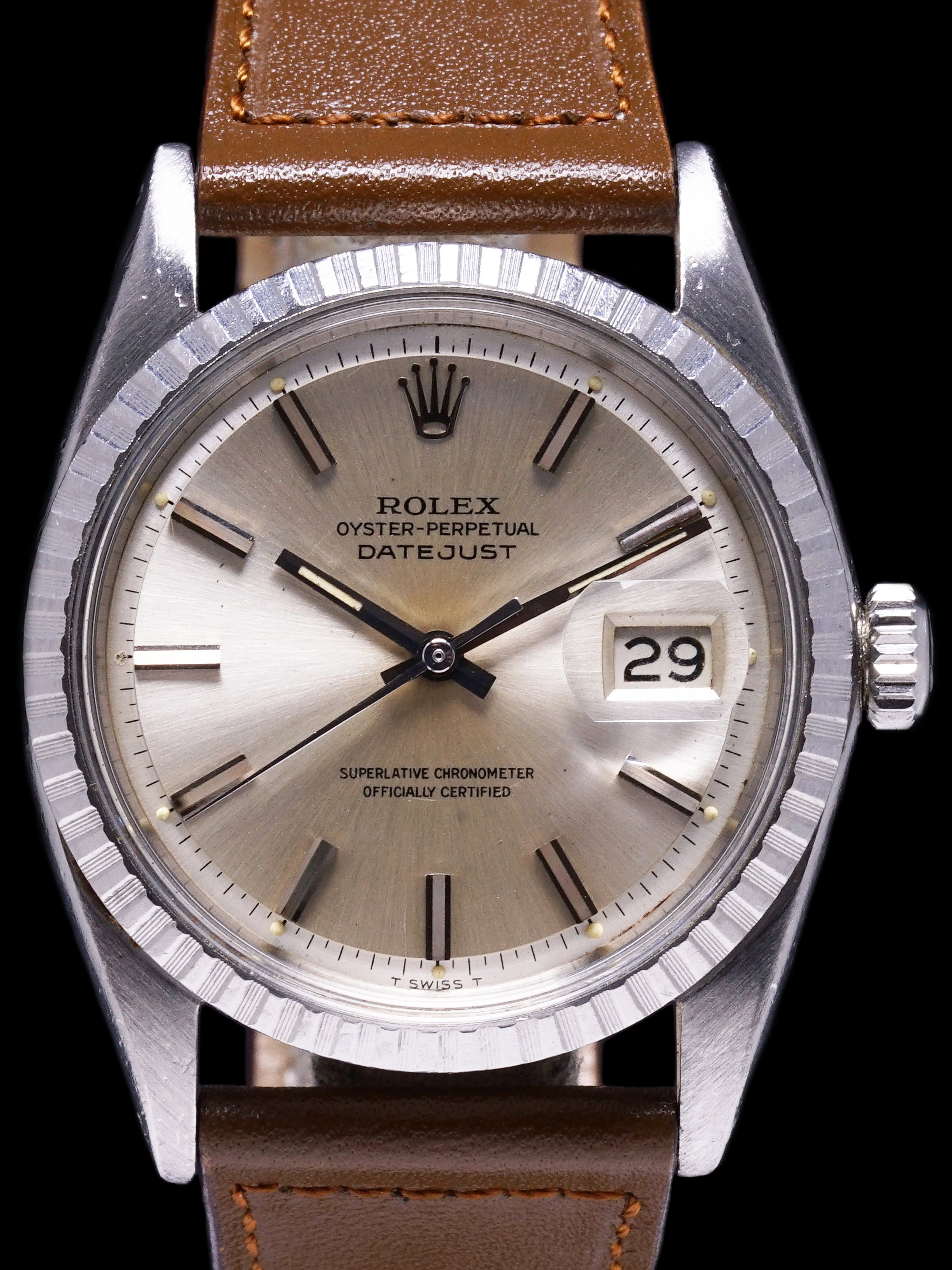 1967 Rolex Datejust (Ref. 1603) With Double Punched Papers