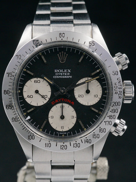 1978 Rolex Daytona 6265 Black Big Red Daytona Dial