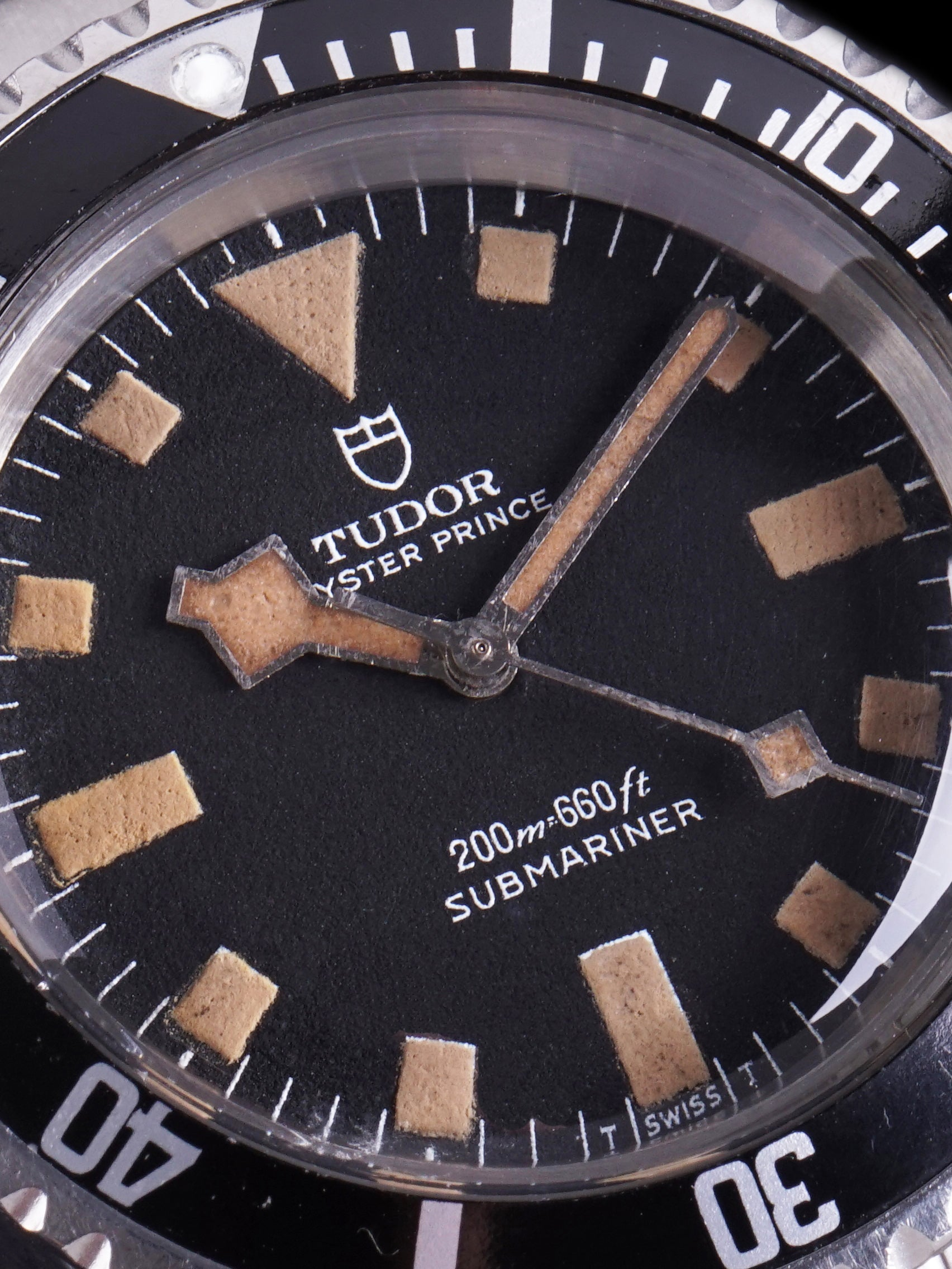 "***Unpolished*** 1969 Tudor Submariner (Ref. 7016/0) ""Snowflake"""