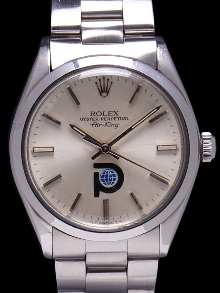 "1978 Rolex Air-King (Ref. 5500) ""Pool Intairdril"" Logo Dial"
