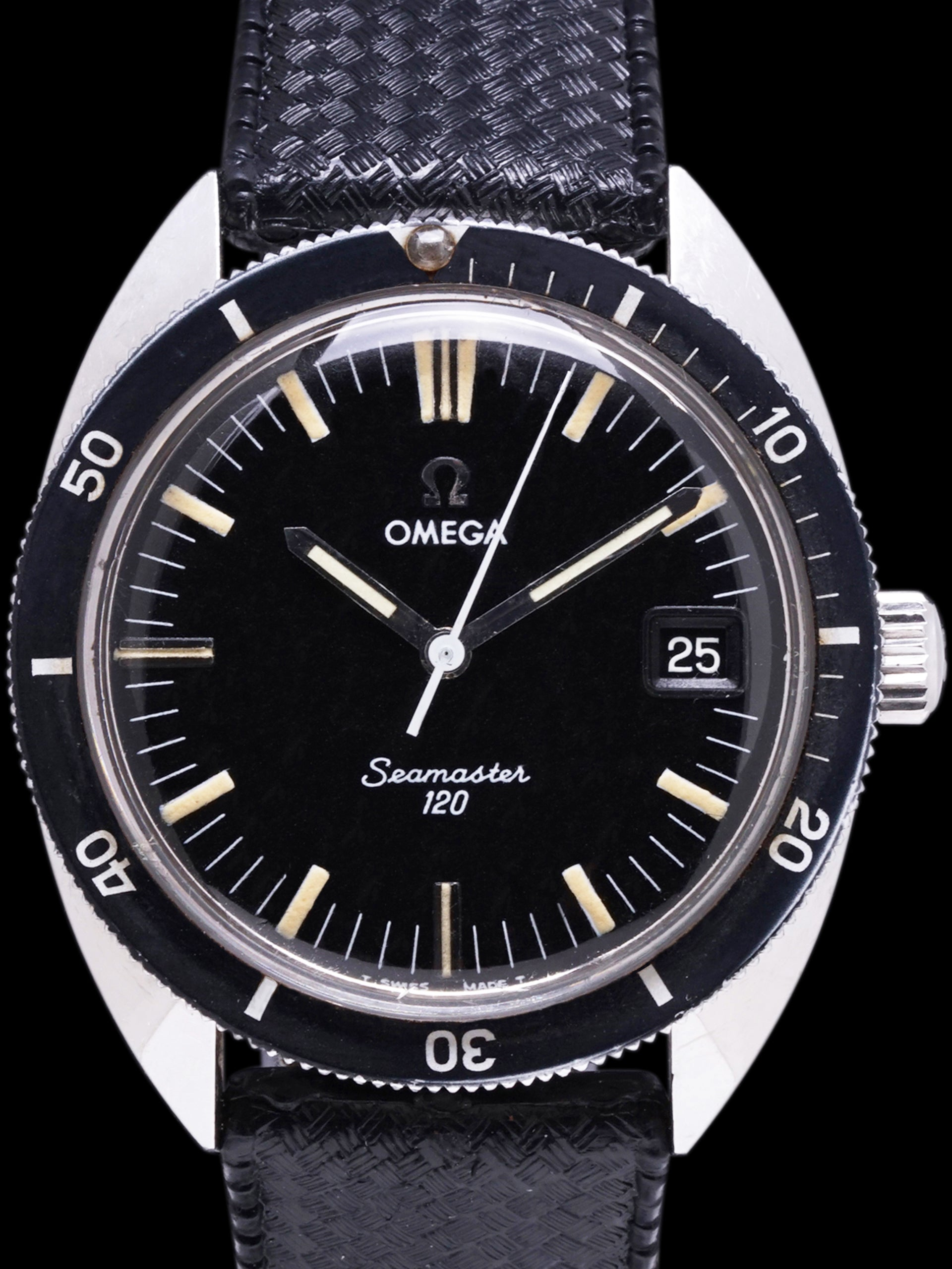 "1968 Omega Seamaster 120 (Ref. 136.027) ""Manual Wind"""
