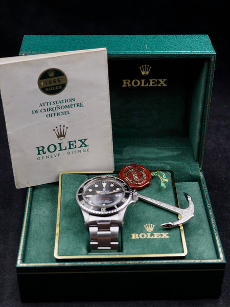 "1973 Rolex Double Red Sea-Dweller (Ref. 1665) ""Mk.3"" with box and papers"